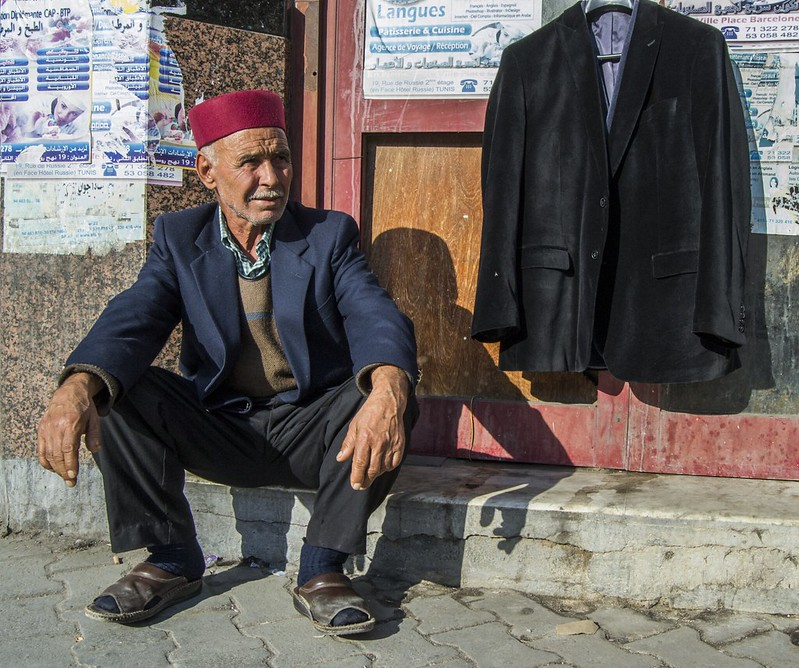 Tunisian Street Seller