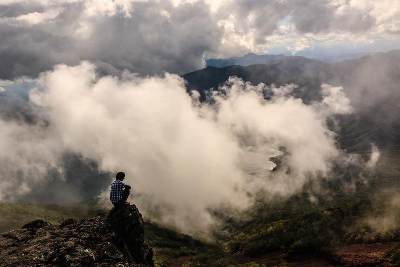 9月の男体山 登山