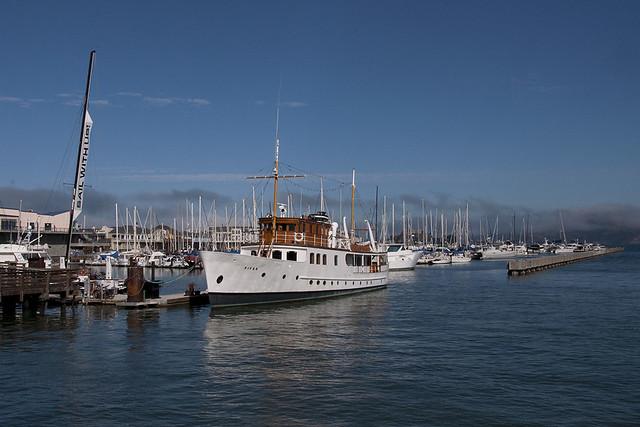 San Francisco - Sailboats