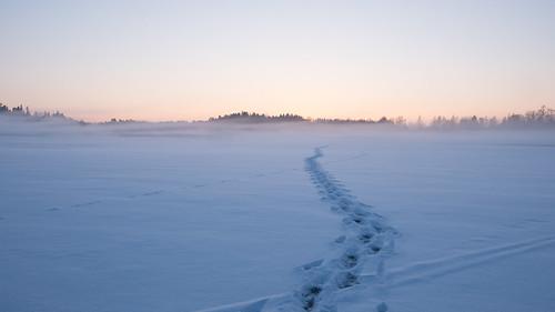 winter snow ice espoo landscape prime lumi talvi 15mm järvi jää lippajärvi