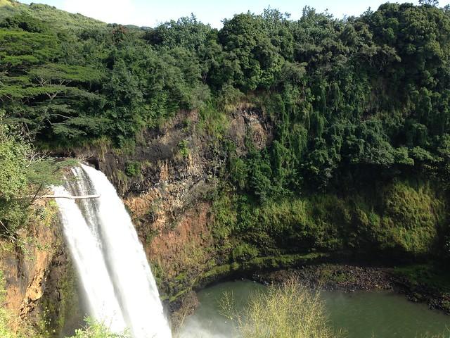 Wahluia falls