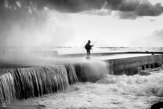 Brave fishermen