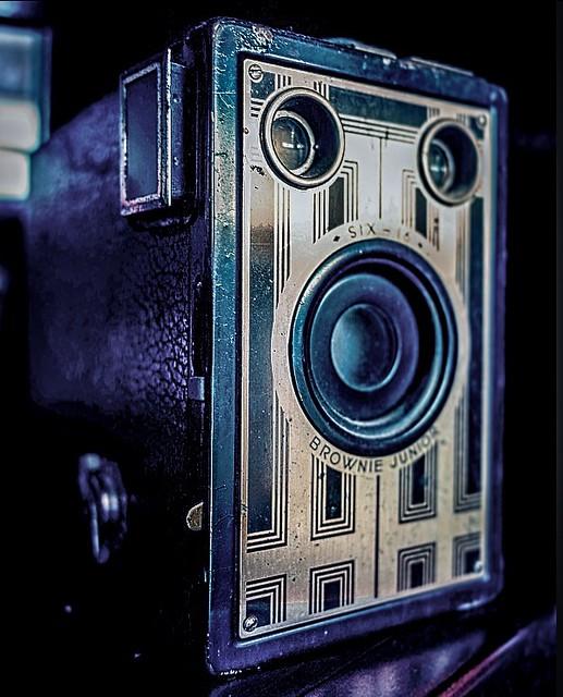 Vintage Kodak.