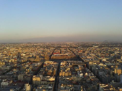 Ciudad Mexico - vanaf Torre Latinoamericana - 3