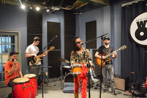 Cole WIlliams and her band. Photo by Kichea S Burt