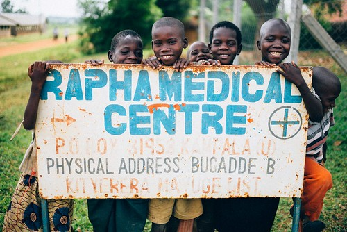 Uganda: Land purchase completes medical campus; students excited about new school building under construction | by Peace Gospel