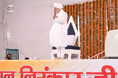 Arrival of His Holiness on the dais
