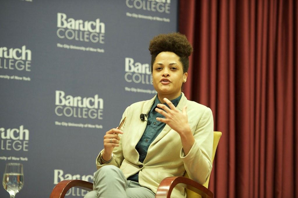 Hunter Student on Panel, Latoya Bethune | Photo Credit: CUNY