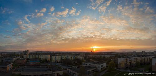 city sunset sky panorama clouds spring nikon apartment poland manfrotto kielce d3200 nikonflickraward olekgraf