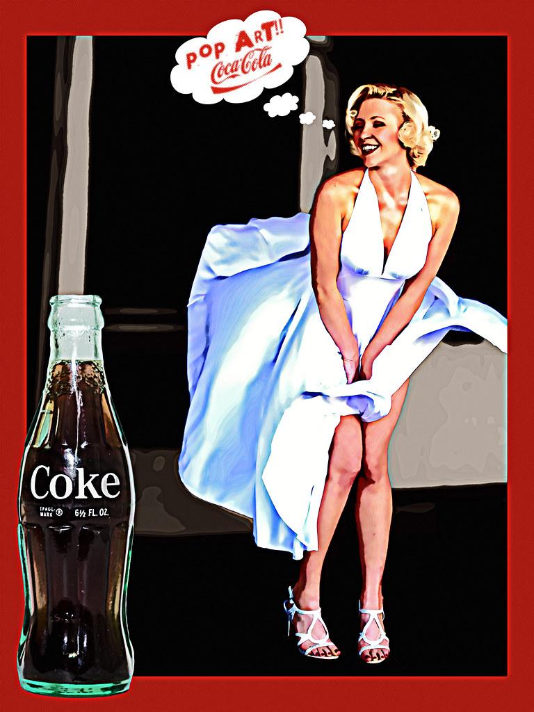 02468765-72-Marilyn Coca Cola Girl-2 | If you like my work