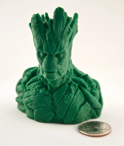 He is Groot! with quarter for scale | by jamesberghout