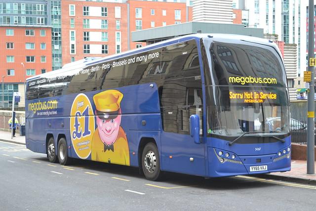 Stagecoach Megabus 54267 YY65VXJ