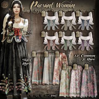 !gO! Peasant woman - Gacha Key   by Gocha Merlin