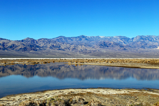 Last Of Lake Manly, Death Valley, January 2016