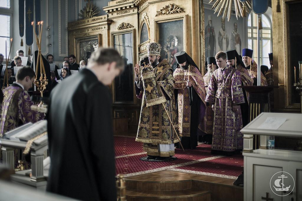 19 марта 2016, Суббота Первой седмицы Великого поста / 19 March 2016, Saturday of the 1st Week of Great Lent