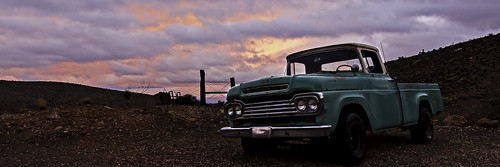 redrockcanyon morning sunset sky usa classic america truck landscape rust earth nevada wideangle places hdr mojavedesert nearlasvegas canon5dmarkiii canon1635mmf4islens