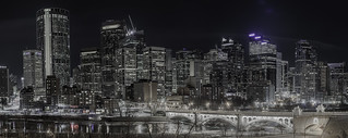 Calgary Skyline from Center Street Bridge | by czeylanicum
