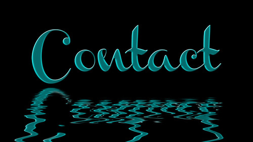 Contact | by Damian Gadal