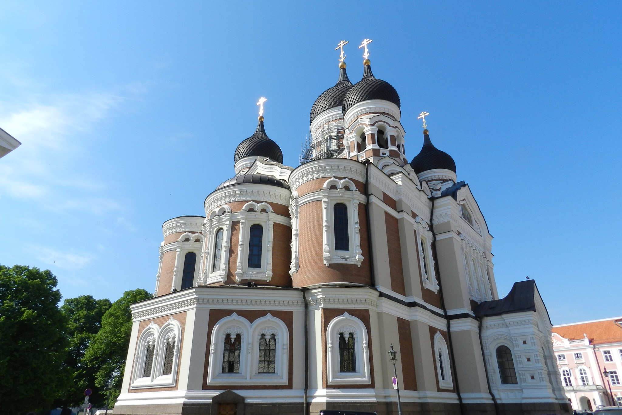 Catedral Ortodoxa Alexander Nevsky Tallin Estonia