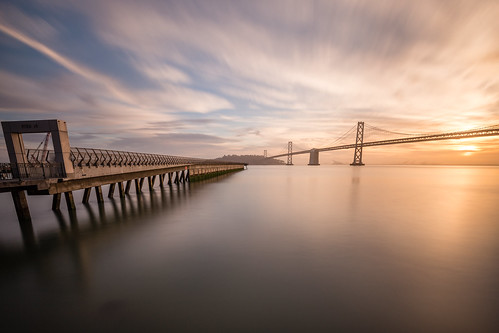 sanfrancisco california travel bridge usa beautiful clouds sunrise canon oakland bay pier us unitedstates jetty ngc 6d pier14 canonef1635f4lis