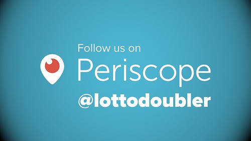 Follow us on Periscope | by lottodoubler