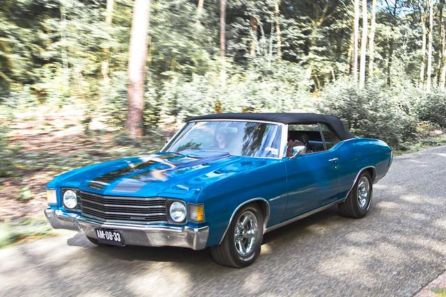 Chevrolet Chevelle Malibu Convertible 1972 (4931)