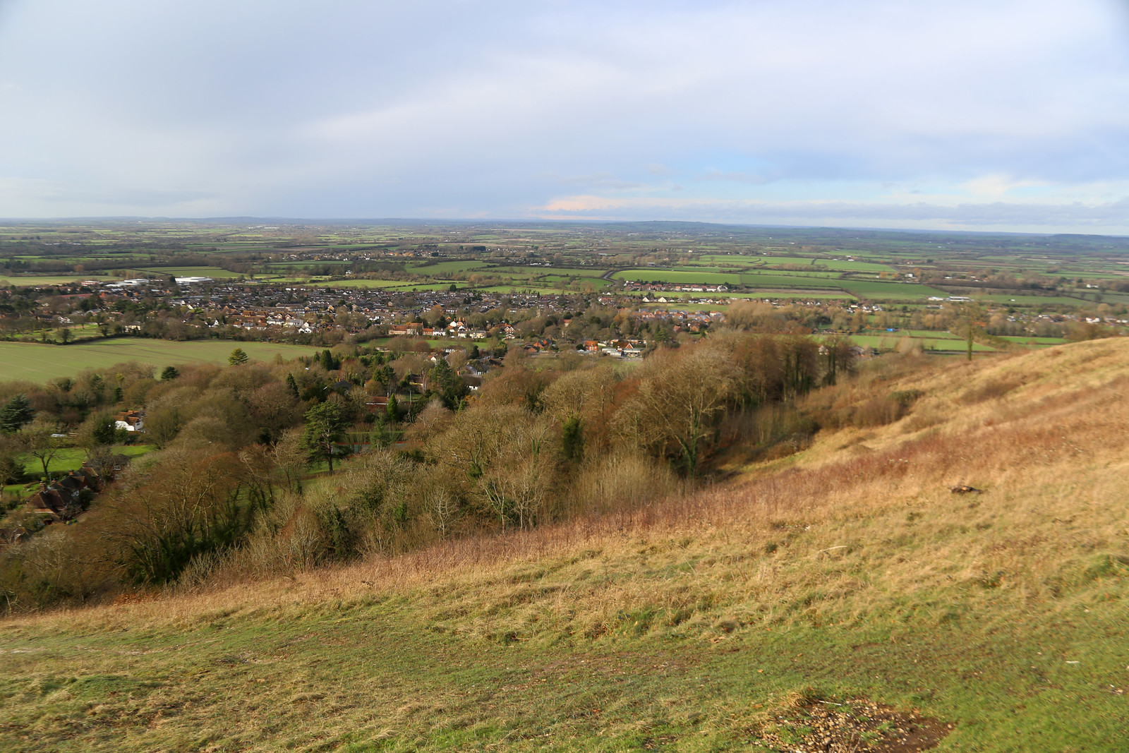 View from Pulpit Hill near Great Kimble
