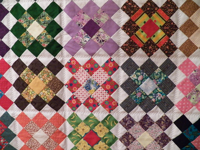 quilt detail to show the quilting