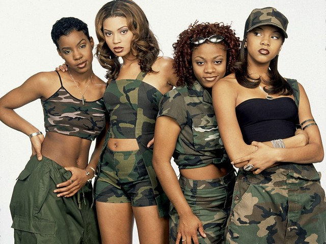 Destiny's Child in the Late 1990's