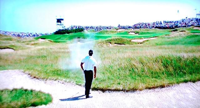 Whistling Straits GC (Straits), Hole #1 - Tiger Woods