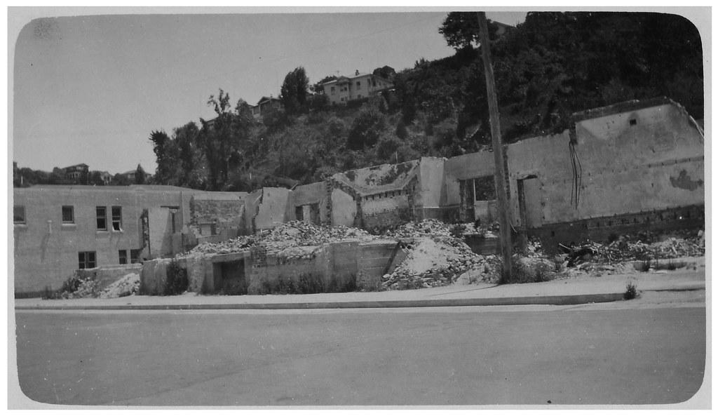 1931 Hawkes Bay Earthquake - Napier (Bluff Hill in Backgro