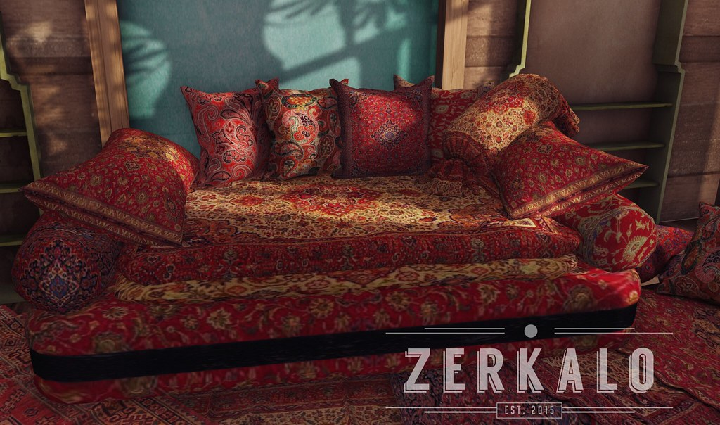 [ zerkalo ] Darius Low Sofa - soon @We <3 Role-Play