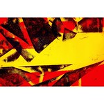 以前、紙版画をたくさんしてみたことがあったよ‼︎その時の一枚✨丸や三角や四角の板紙をつくってみて、それを切って貼り付け元に戻して、色紙に擦ってみたら、できた模様がおもしろかったよ❕🎨✨  #アート #デザイン #グラフィック #art #design #graphic #カラフル #colorful #黄色 #茶色 #朱色 #yellow #brown #red #makiyuugallery #紙版画 #paperprint