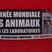 Amiens - 23 avril 2016 - Journée Mondiale des Animaux dans les laboratoires
