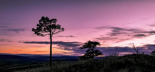 Craig Watch Sunset Lower Cabrach