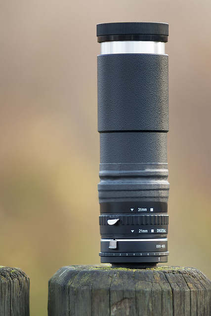 Leitz Wetzlar Elmaron 200mm ƒ/3.6 projection lens (E-mount converted)