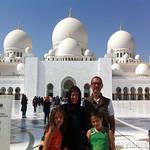Viajefilos en la Gran Mezquita de Abu Dhabi 14