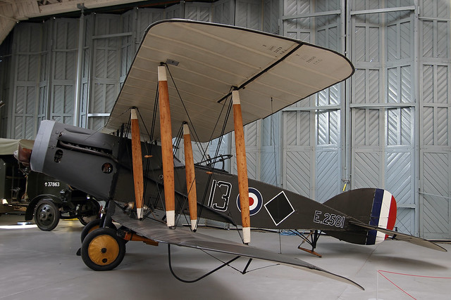 E2581 BRISTOL F.2B DUXFORD AVIATION MUSEUM