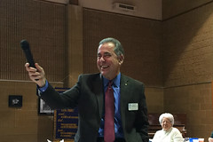 Scott Tarkenton presented the Casino Night plans. It's going to be another fun night this year.  The 2016 Winter Assembly included new member Steve Ramirez's induction, Casino Night presentation from Scott Tarkenton, a membership update from Chris Morden and a website update from Mike Wienold.