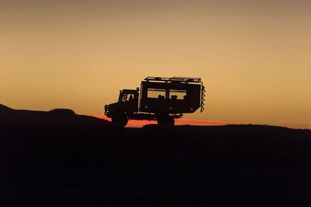 Sunset Uniland Chile