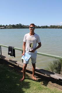 Luke Deegan winner of the Inaugural King and Queen River Race Regatta | by PLSC (Panmure Lagoon Sailing Club)