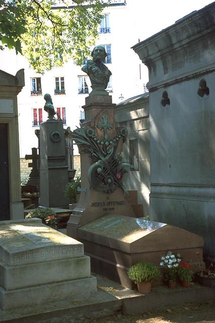 Cimetiere du Monmartre - Grabmal Jaques Offenbachs