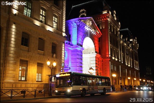 Irisbus Citélis 12 – RATP (Régie Autonome des Transports Parisiens) / STIF (Syndicat des Transports d'Île-de-France) n°8618