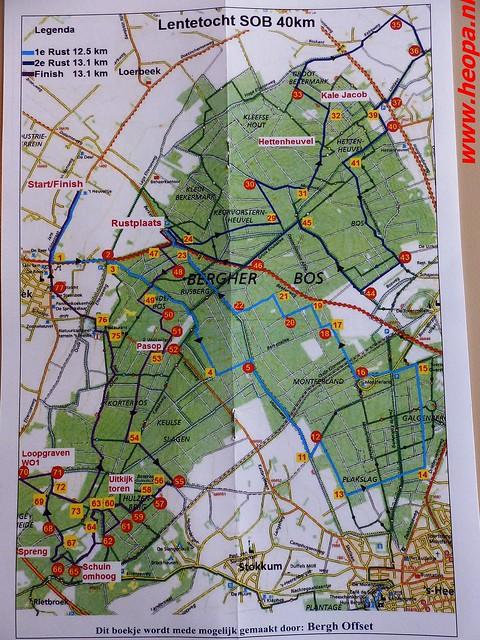 2016-04-30   Lentetocht  (klim) wandeling 40 Km  (2)