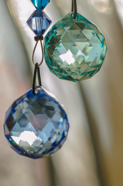 crystal sun catchers..