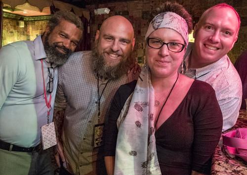 Dwayne Breashears, Murf Reeves, Suzanne Corley. Piano Night 2016