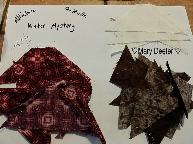 Clue 4 Allietare Winter Mystery Quilt