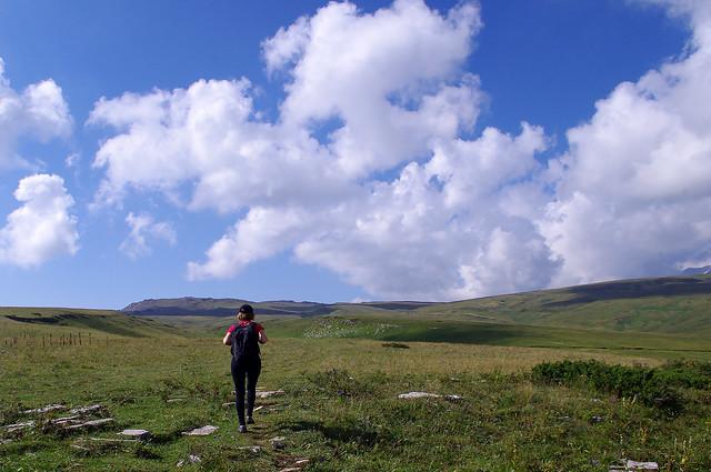 поход к облакам. hike to the clouds.