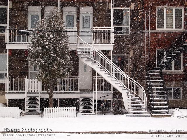 Winter scene at Rushbrooke Street, Verdun