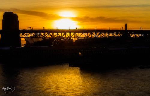 bridge sea sky sun water architecture sunrise canon reflections ship sydney australia circularquay nsw 1855mm operahouse hdr sydneybridge kevinwalker canon1100d